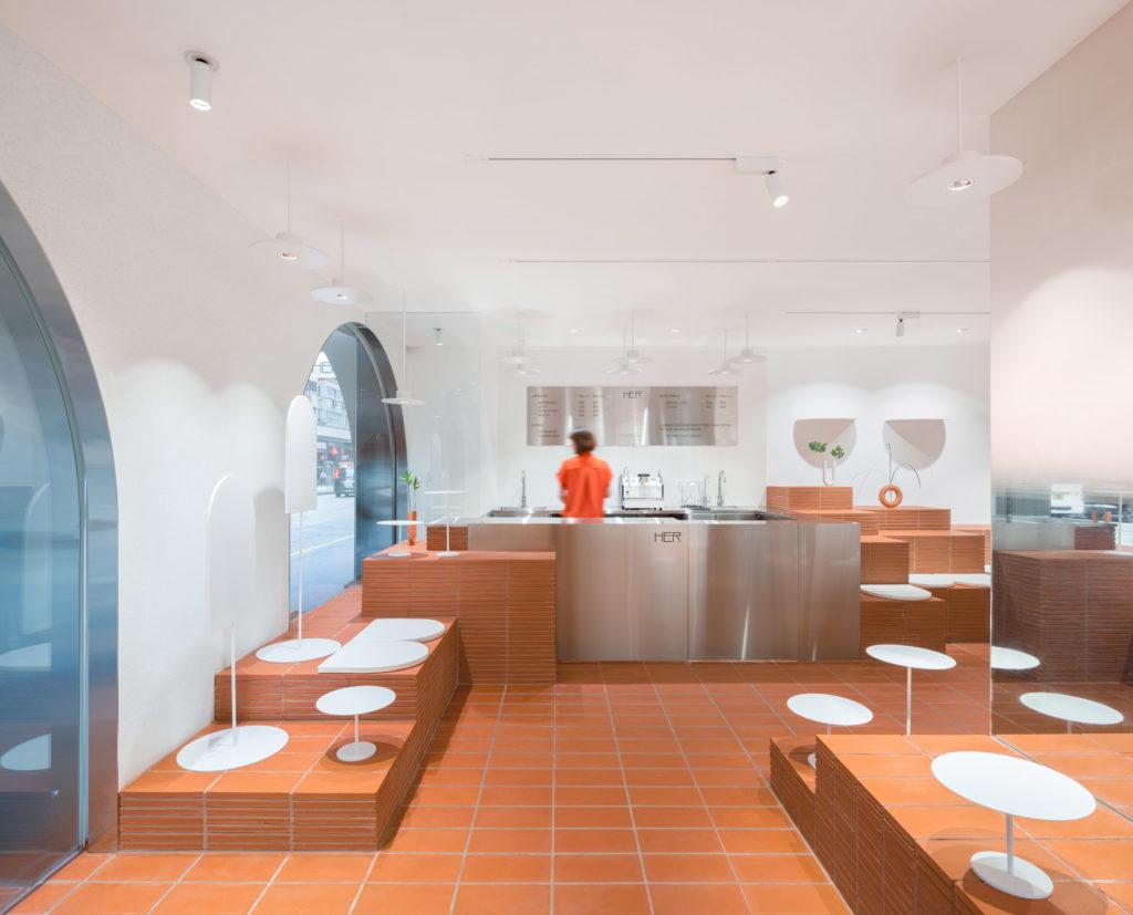 interior design cafe her